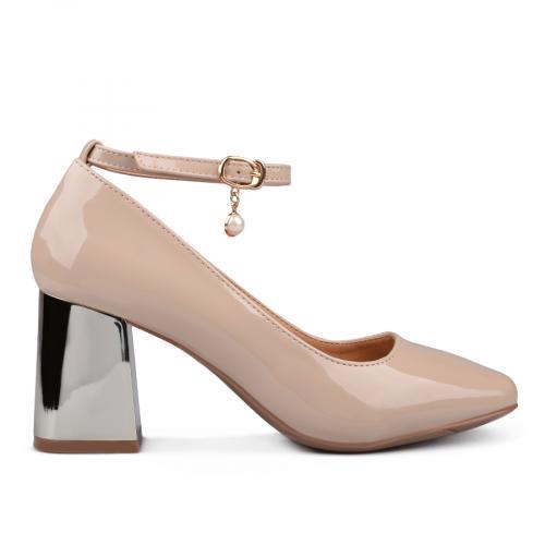 дамски елегантни обувки бежови 0132383
