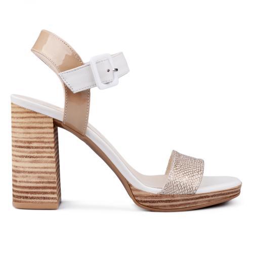 дамски елегантни сандали бежови 0131418