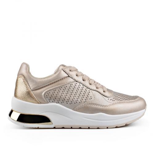 дамски ежедневни обувки златисти 0136644