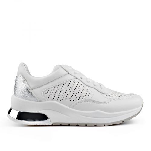 дамски ежедневни обувки бели 0136645
