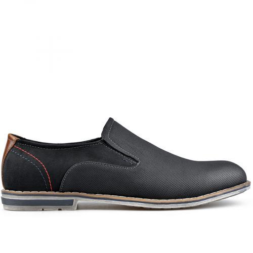 мъжки елегантни обувки черни 0136598
