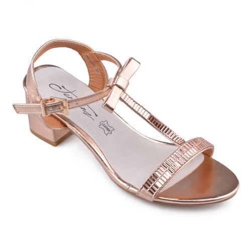 Дамски сандали на среден ток 0134537