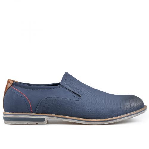 мъжки елегантни обувки сини 0136597