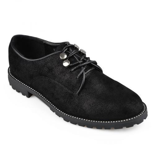 дамски ежедневни обувки черни 0135934