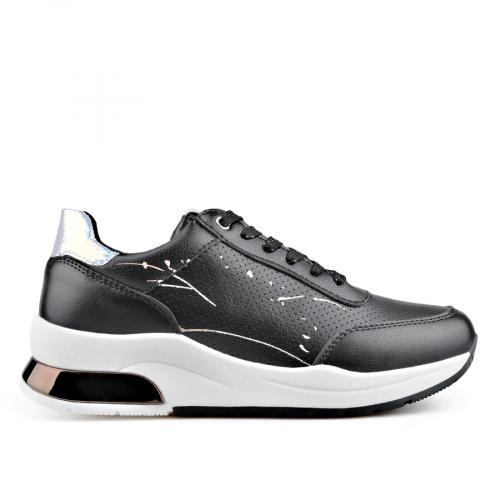 дамски ежедневни обувки черни 0136642