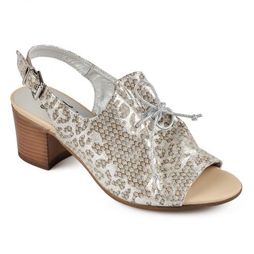дамски елегантни сандали златисти 0138456
