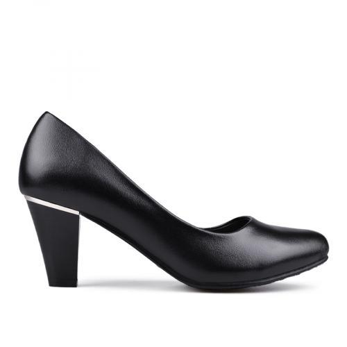 дамски елегантни обувки черни 0133110