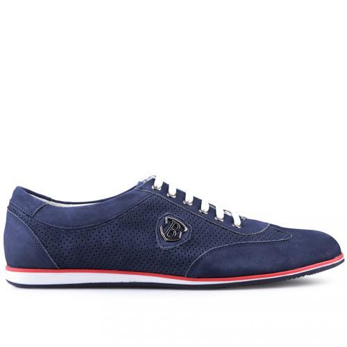 мъжки ежедневни обувки сини 0124503