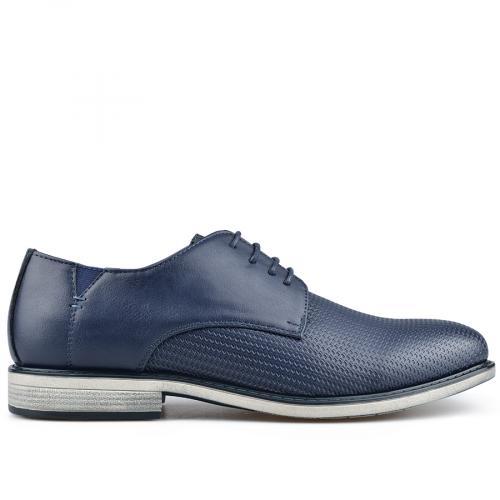 мъжки елегантни обувки сини 0136593