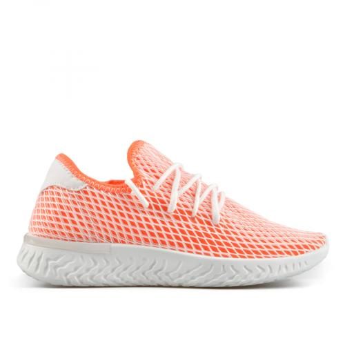дамски ежедневни обувки оранжеви 0137861