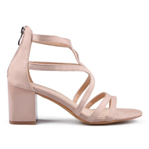 Дамски сандали на висок ток 0133631