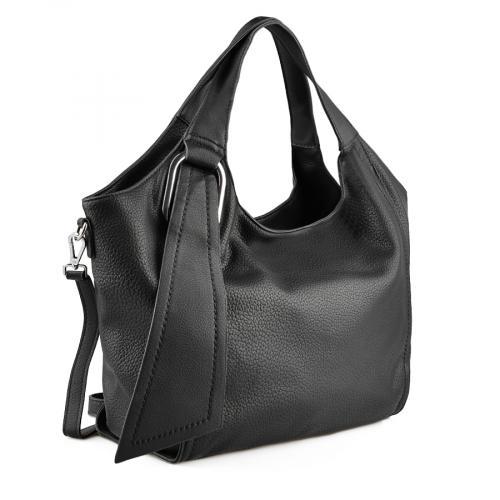 дамска ежедневна чанта черна 0137977