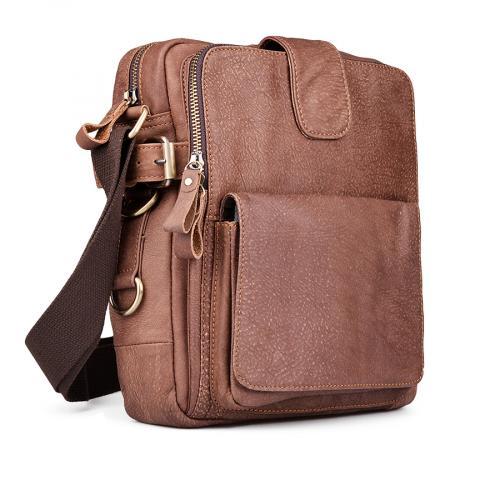 мъжка ежедневна чанта кафява 0132447