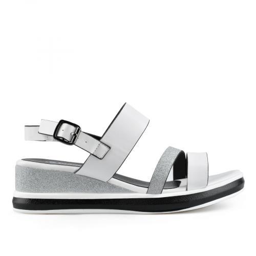 дамски ежедневни сандали бели 0137022