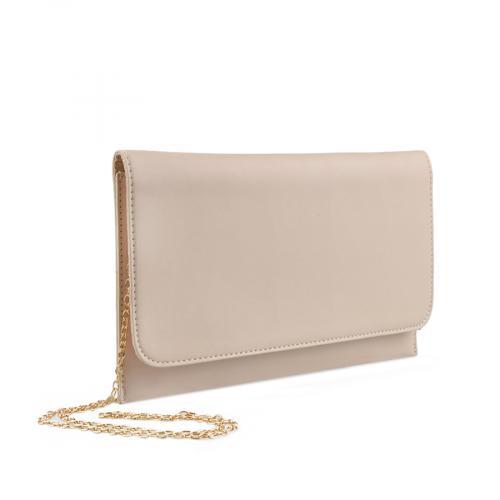 дамска  елегантна чанта бежова 0136801