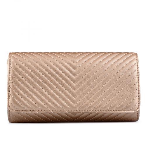 дамска елегантна чанта златиста 0129246