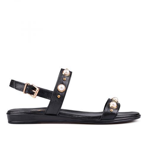 дамски ежедневни сандали черни 0132536