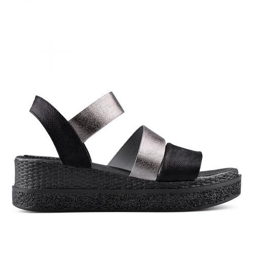 дамски ежедневни сандали черни 0135041