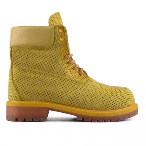 дамски летни боти жълти 0128399