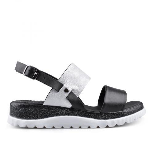 дамски ежедневни сандали черни 0135046