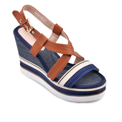 дамски ежедневни сандали сини 0134459