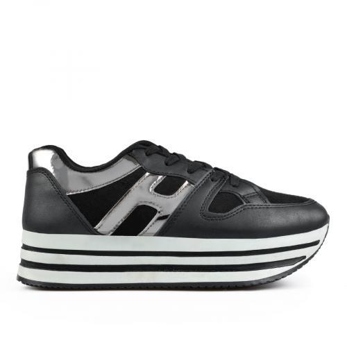 дамски ежедневни обувки черни  0135462