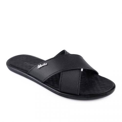 мъжки чехли черни 0128377