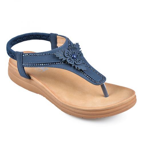 дамски ежедневни сандали сини 0138236