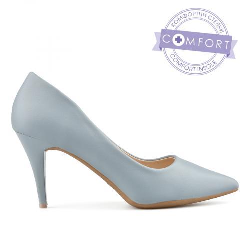 дамски елегантни обувки сини 0137713