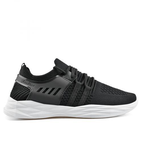 мъжки ежедневни обувки черни 0136923