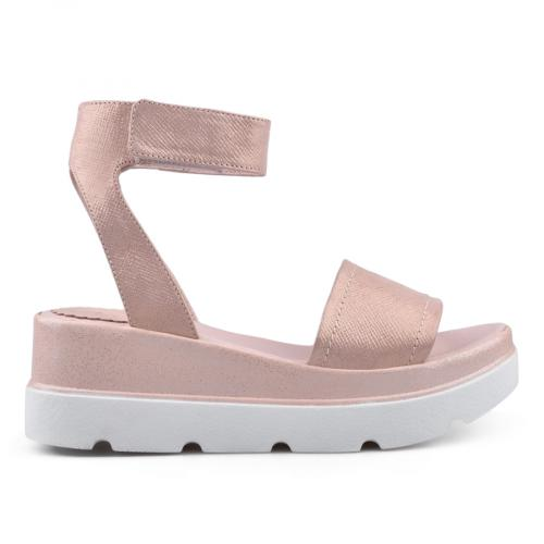 дамски ежедневни сандали розови 0135056