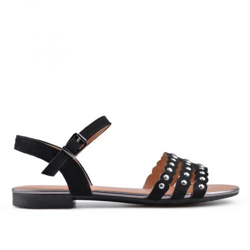 дамски ежедневни сандали черни 0134467