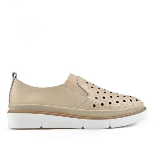 дамски ежедневни обувки бежови 0137244