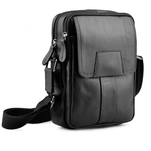 мъжка ежедневна чанта черна 0138054