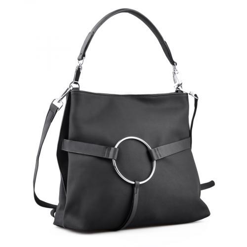дамска ежедневна чанта черна 0134301