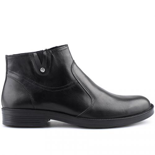 мъжки елегантни боти черни 0126034