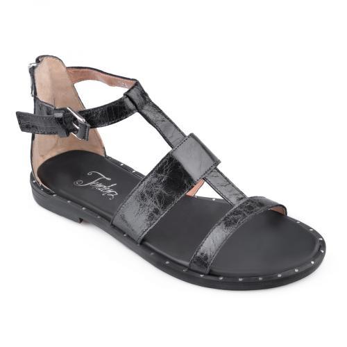 дамски ежедневни сандали черни 0135866