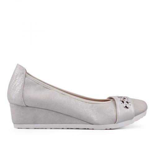 дамски ежедневни обувки сребристи 0130134