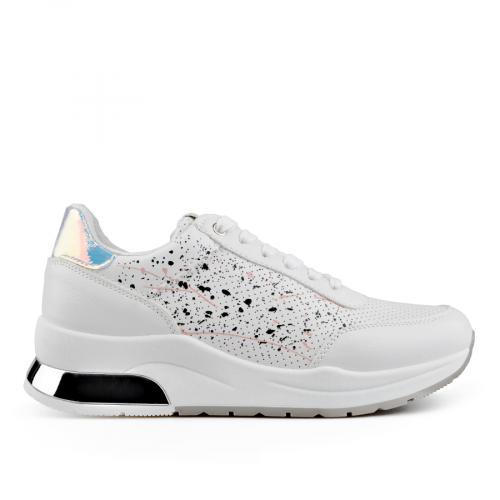 дамски ежедневни обувки бели 0136643