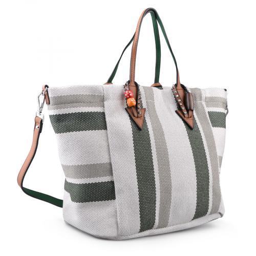 дамска ежедневна чанта зелена 0134300
