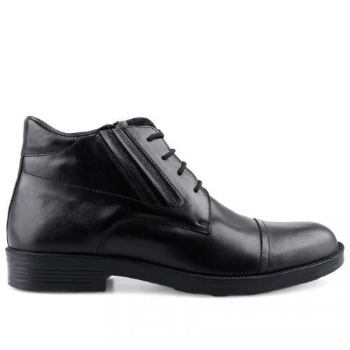 мъжки елегантни боти черни 0126035
