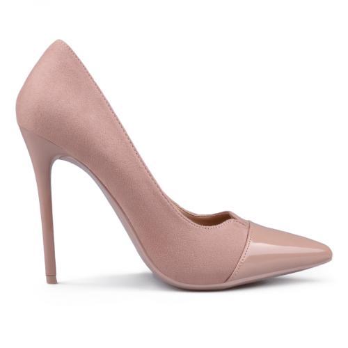 дамски елегантни обувки розови 0132940