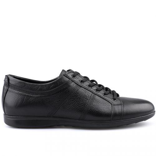 мъжки ежедневни обувки черни 0125920