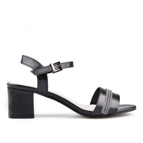 Дамски сандали на висок ток 0134545