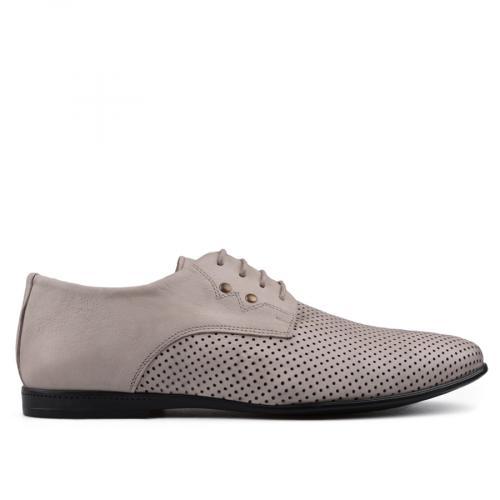 Мъжки елегантни обувки бежови 0134816