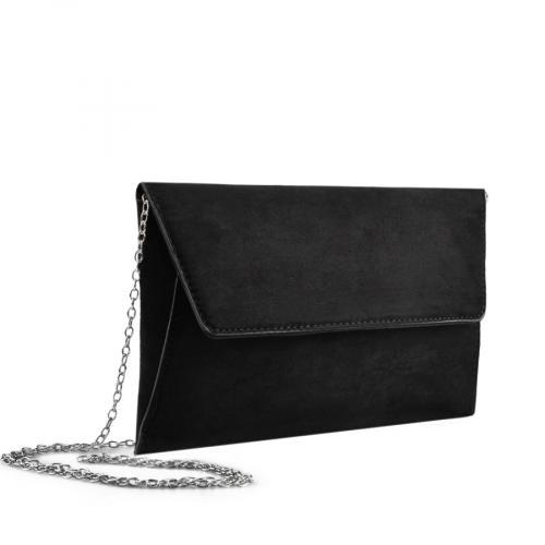 дамска  елегантна чанта черна 0136740