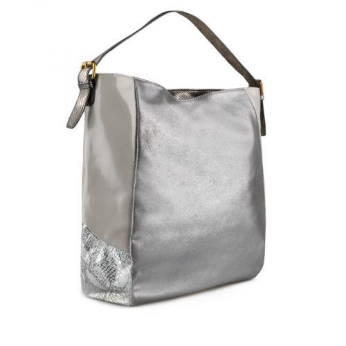 дамска ежедневна чанта сребриста 0137970