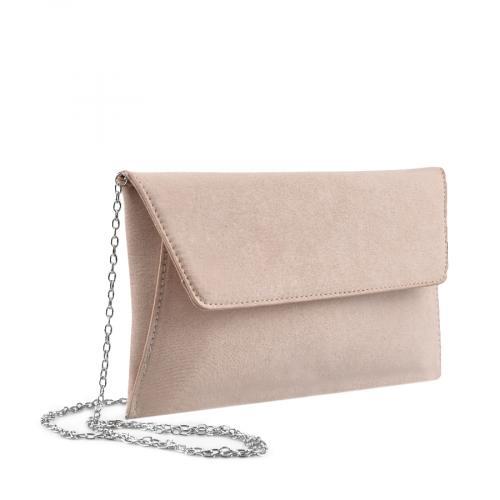 дамска  елегантна чанта бежова 0136739