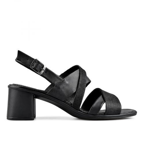 7583d88efef -21% дамски елегантни сандали черни 0138531