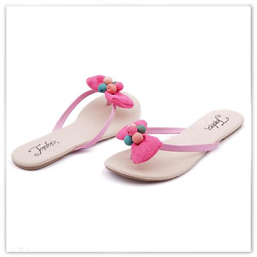 дамски чехли розови 0113816